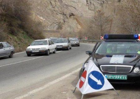 جاده چالوس و آزادراه تهران-شمال یکطرفه میشود