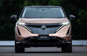 رونمایی از خودروی برقی جدید شرکت نیسان به نام آریا