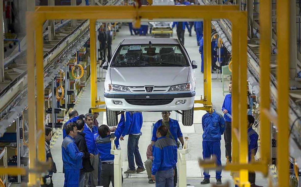 خودروهای ناقص کف پارکینگ کارخانهها در مرز ۱۱۰هزار دستگاه