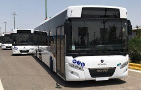 صرفهجویی یکصد میلیارد تومانی در خرید اتوبوسهای جدید/ خرید ۱۰۰ دستگاه اتوبوس از عقاب افشان