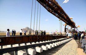 پاییز امسال؛ بهره برداری از راه آهن خواف- هرات