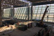 پیشرفت ۶۹درصدی ساخت ترمینال جدید فرودگاه بین المللی کیش