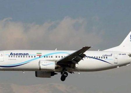 جزئیات نقص فنی در موتور بوئینگ ۷۳۷ آسمان و فرود اضطراری هواپیما در زاهدان