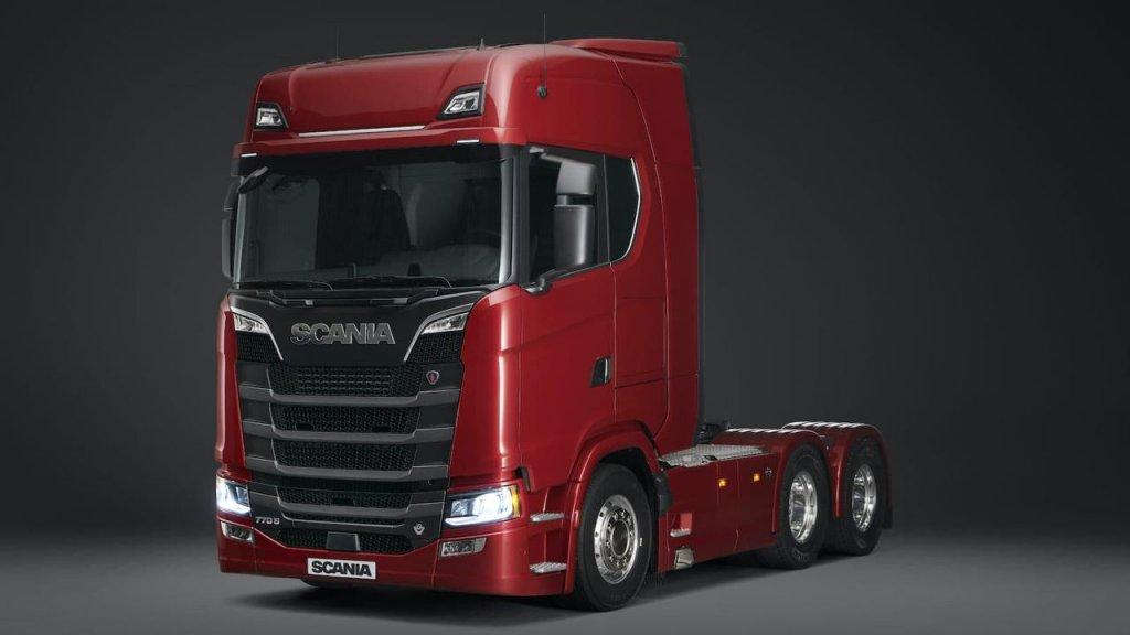 اسکانیا قویترین کامیون دنیا را تولید کرد