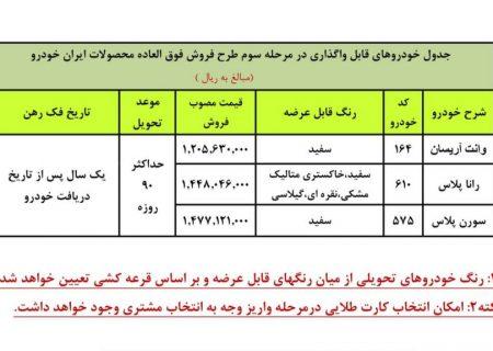 آغاز ثبتنام چهارمین مرحله فروش فوقالعاده ایرانخودرو