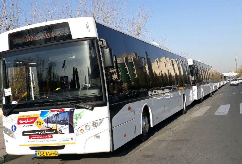 ورود ۴۲ اتوبوس جدید به ناوگان حمل و نقل عمومی کرج