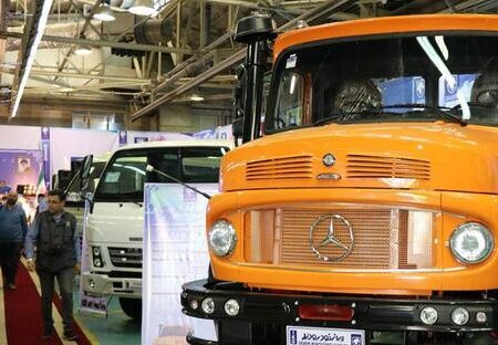 کامیون های ایران خودرو دیزل روی خط فروش