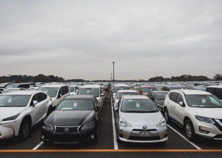 کاهش فروش خودروهای نو در ژاپن