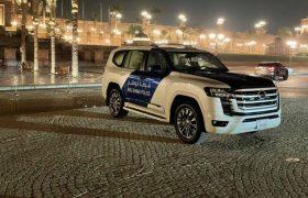 تویوتا لندکروزر ۲۰۲۲ به ناوگان پلیس دبی پیوست