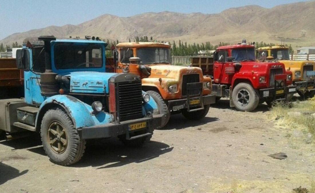 ۳۶۰۰ کامیون فرسوده در آستانه نوسازی و شمارهگذاری