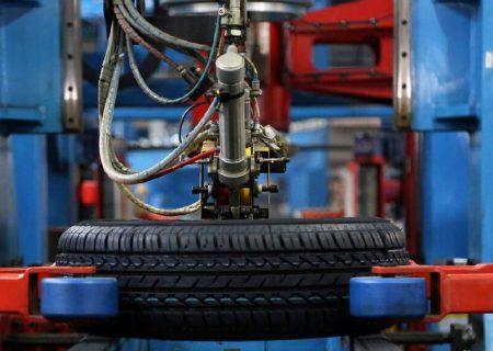 رشد ۱۰ درصدی تیتراژی و ۶ درصدی وزنی تولید انواع تایر