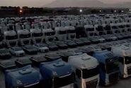 ۳۶۴۳ کامیون رسوبی در گمرک تعیین تکلیف می شود؟