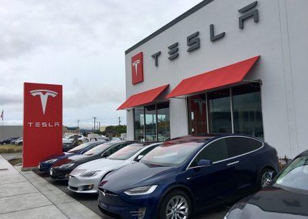 تسلا بازار خودروهای برقی را قبضه کرد
