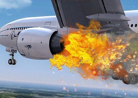 کدام قسمت هواپیماها بیشترین سابقه آتشگرفتن حین پرواز را دارد؟