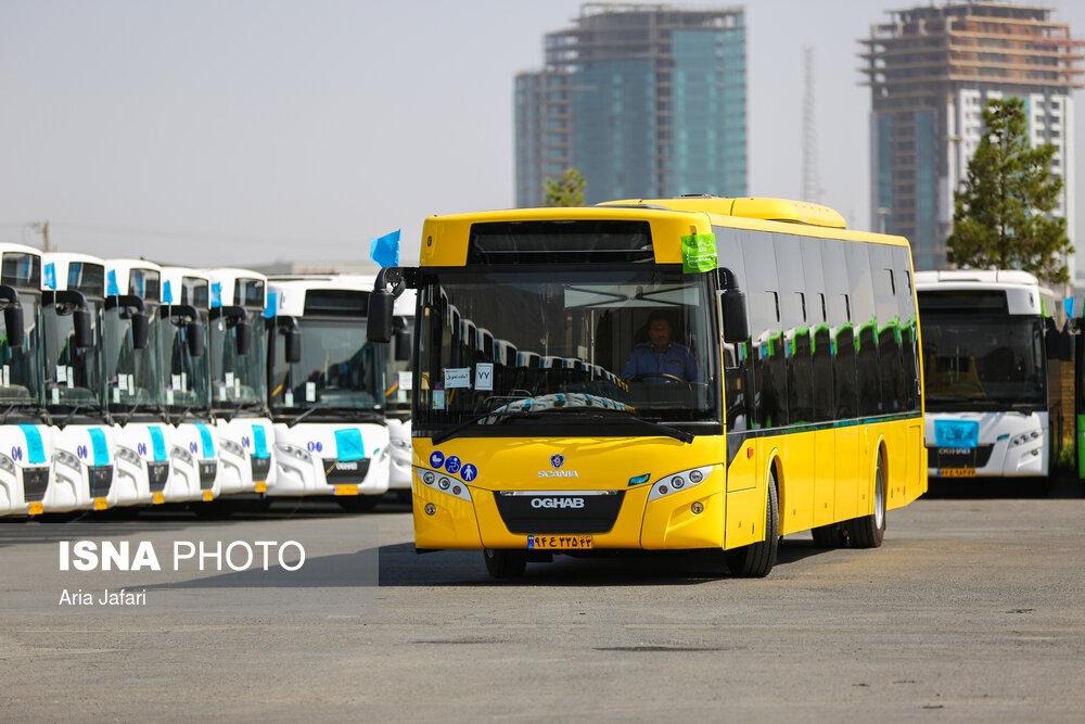 ورود ۸۰ اتوبوس جدید اسکانیا به ناوگان اتوبوسرانی اصفهان