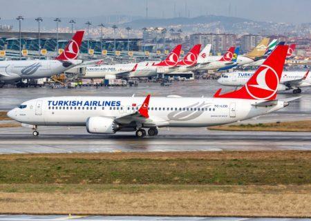 پروازهای ترکیه به ایران و افغانستان از دو هفته دیگر از سرگرفته میشود