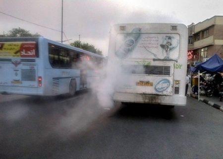 سهم اتوبوسهای شهری در آلودگی هوا چقدر است؟