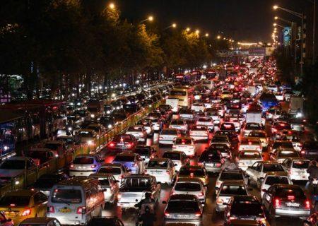 تغییر دوباره الگوی ترافیک در تهران
