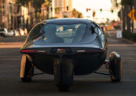 خودروی برقی خورشیدی با پیمایش ۱۰۰۰ مایل با هر بار شارژ