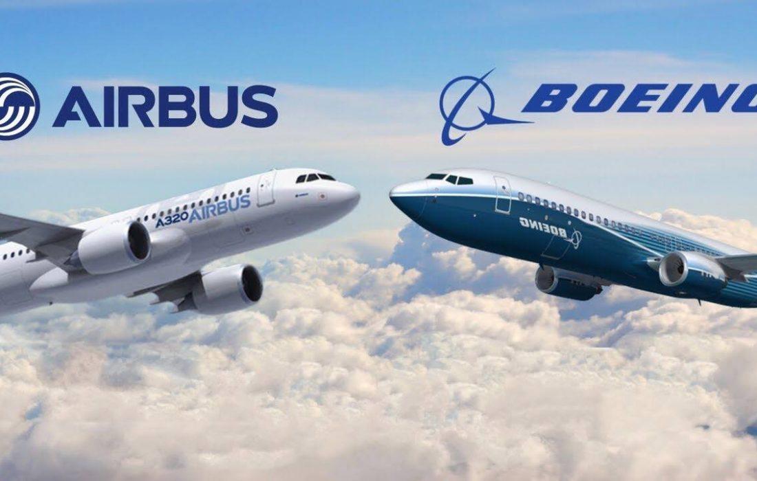 بازگشت ایرباس و بوئینگ به سمت احیای قراردادهای خرید هواپیما