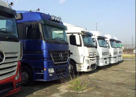ثبت سفارش ۲۷۰۰ کامیون زیر سه سال انجام شد