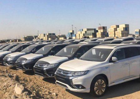 ۲۲۴۹ دستگاه خودرو همچنان در گمرک بلاتکلیف