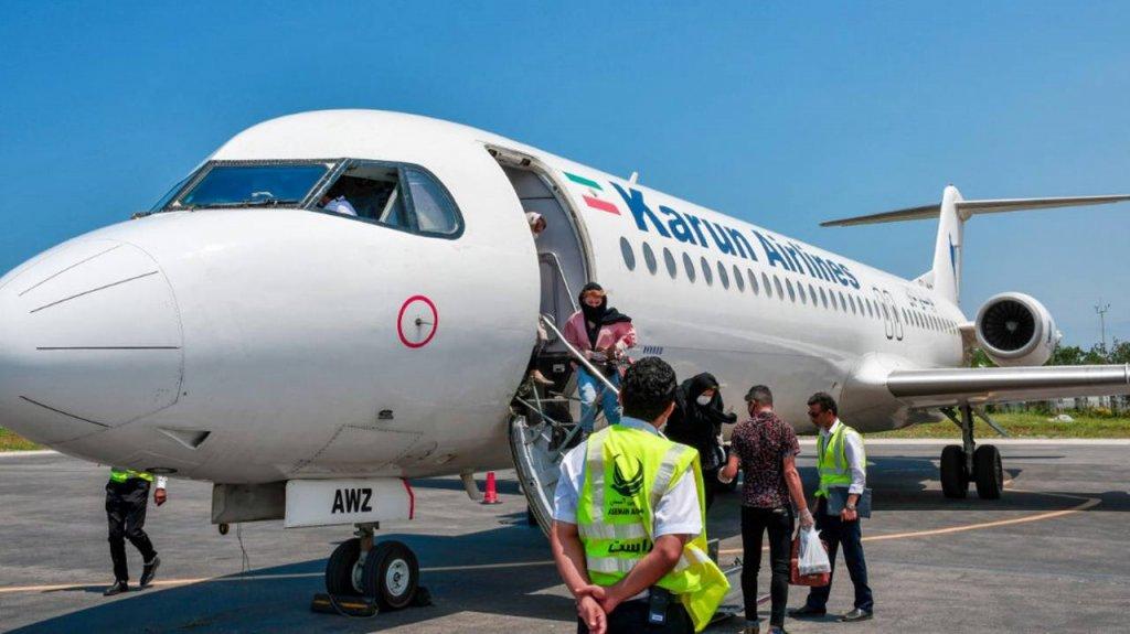 شرکت هواپیمایی کارون از سازمان هواپیمایی کشوری اخطار گرفت