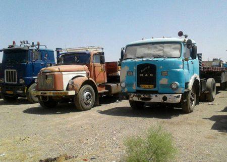 حرکت لاکپشتی نوسازی کامیون فرسوده