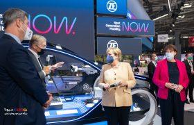 دومین روز نمایشگاه بینالمللی خودرو در آلمان