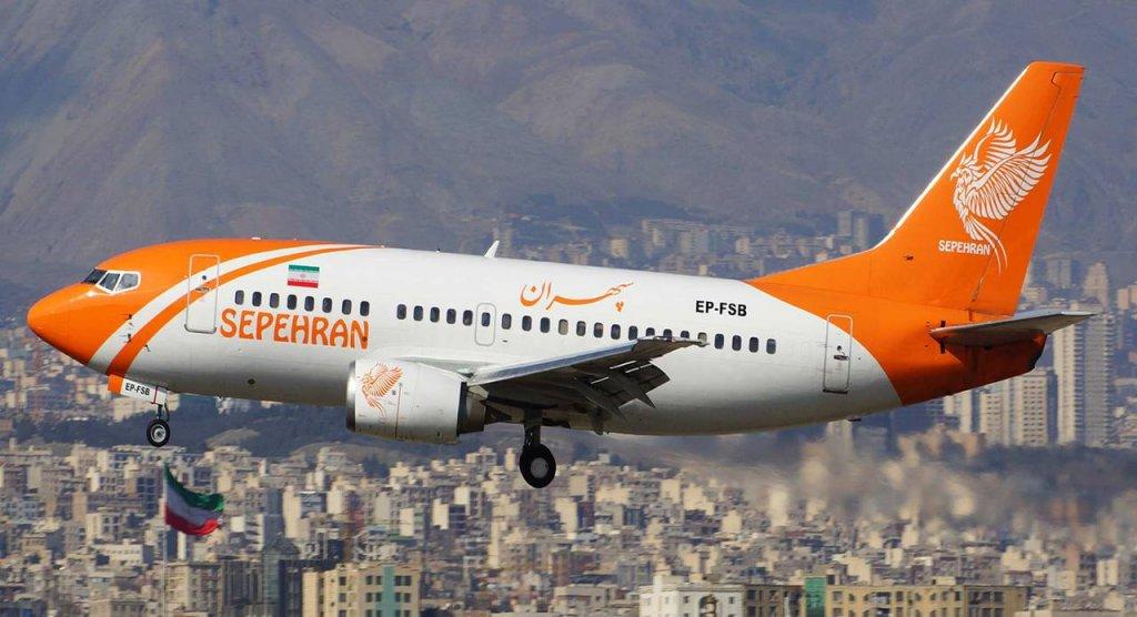اولین پرواز هواپیمایی سپهران به نجف اشرف/ انجام ۴ پرواز در هفته به مقصد نجف از مشهد و تهران